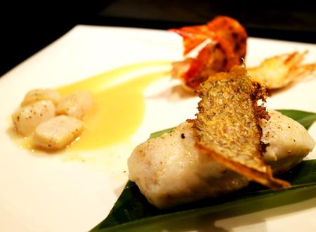 鉄板海鮮ランチ ¥1,780